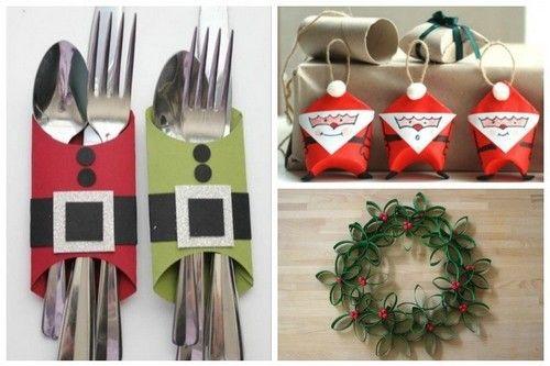 Rotoli Di Carta Igienica Lavoretti Natalizi : Decori natalizi con rotoli di carta igienica 638x425 natale xmas