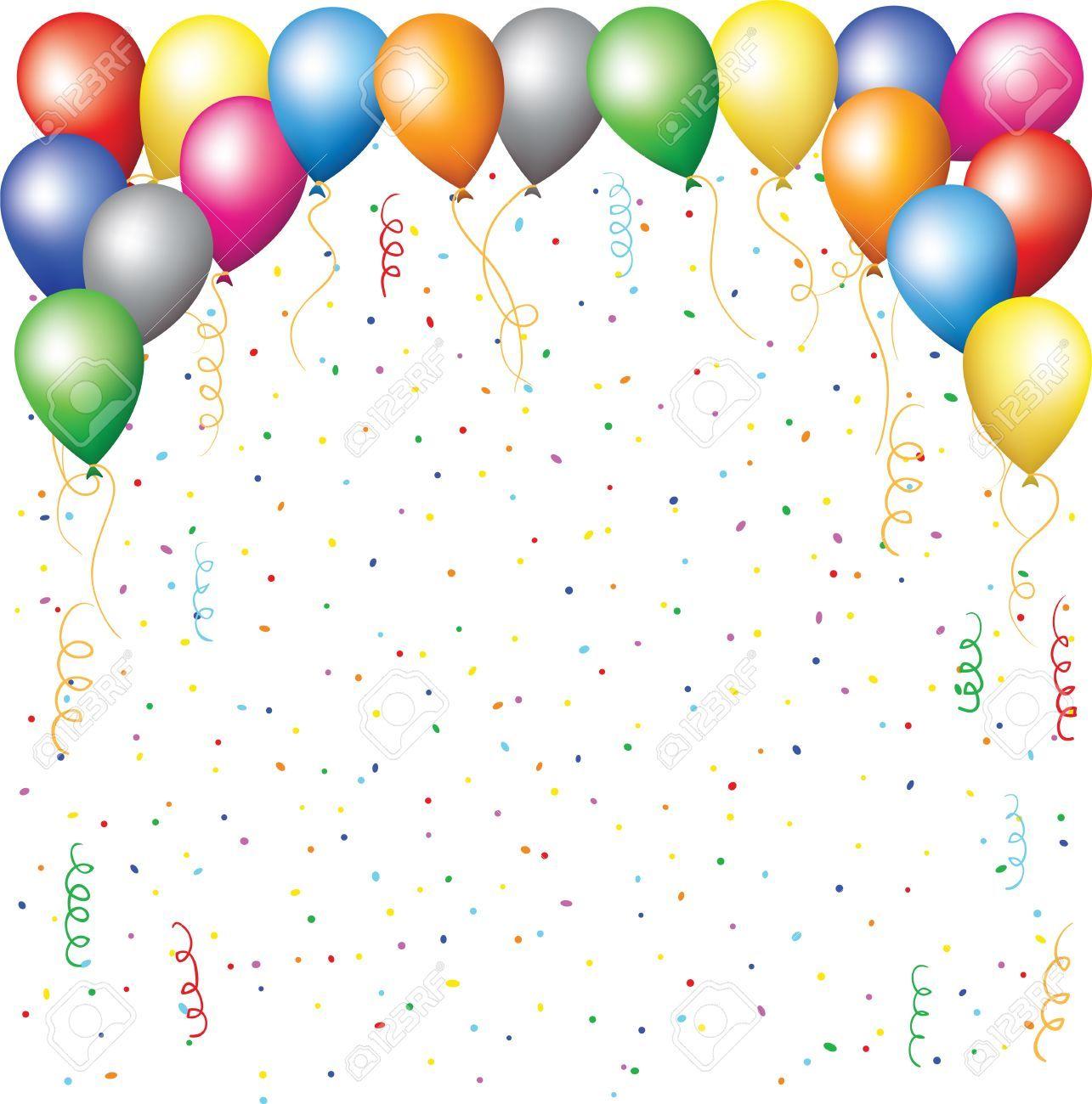 Foto de archivo fondo feliz cumplea os con globos for Smow gutschein
