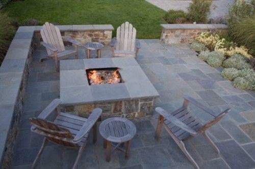 Feuertisch Feuerstellen Fur Die Terrasse Garten Terrasse Und Hinterhof