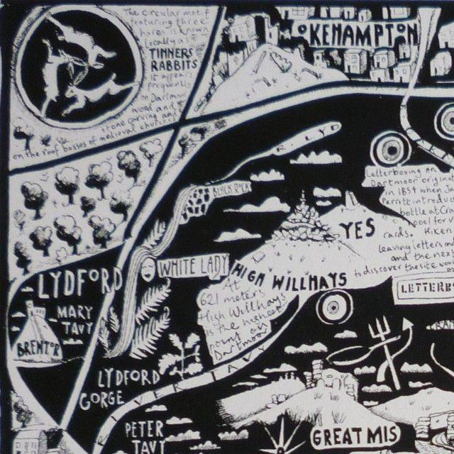 Caroline Harper. Hand-drawn maps | Details