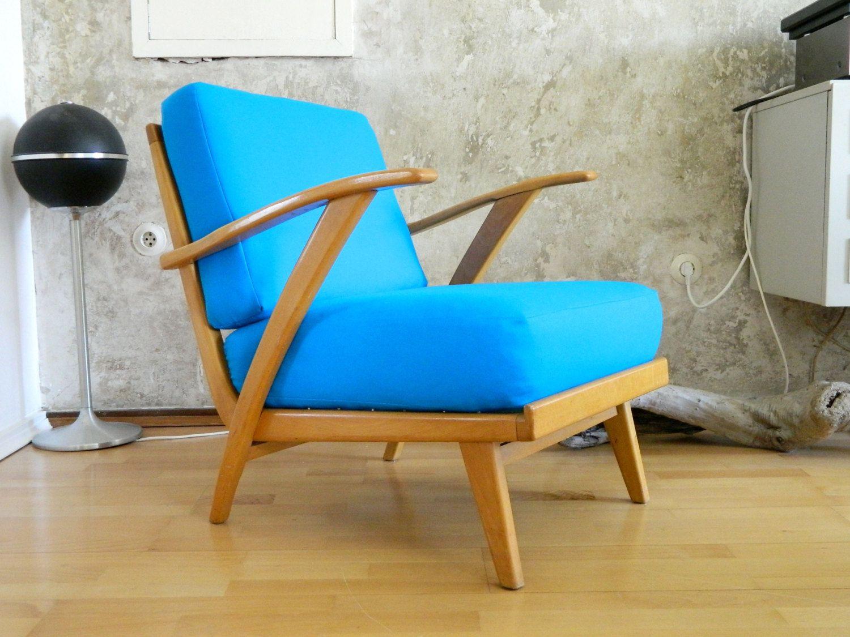 Traumhafter 1950er Jahre Sessel Skandinavisches Design Mid Century Sessel  Easy Chair Par MrAndMrsWho Sur Etsy ...