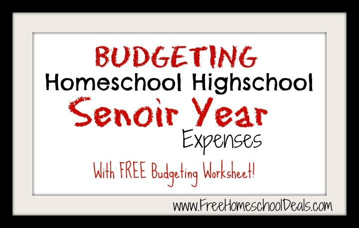 Budgeting worksheet high school