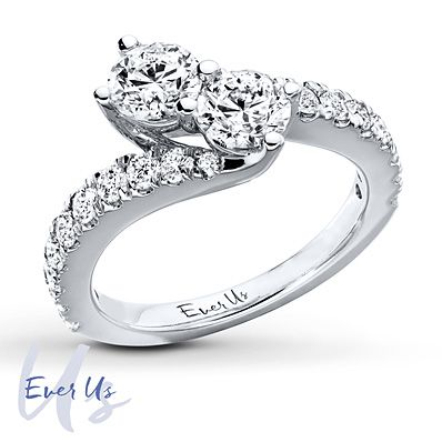 The Ever Us Ring One Diamond For Your Best Friend One For Your