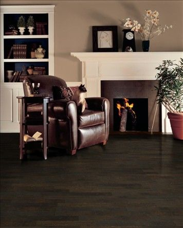 Benjamin Moore Spanish Brown Paint And Rural Living Hickory Extra Dark Floors Light White Colored Furniture Obsessed