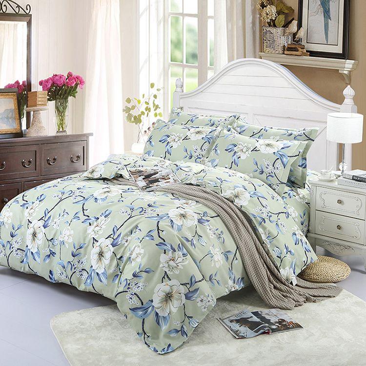 Custom Microfiber Printing Bedsheet Bedspreads Quilts Bedding Set   Buy  Quilts Bedding Set,Microfiber Bedsheet