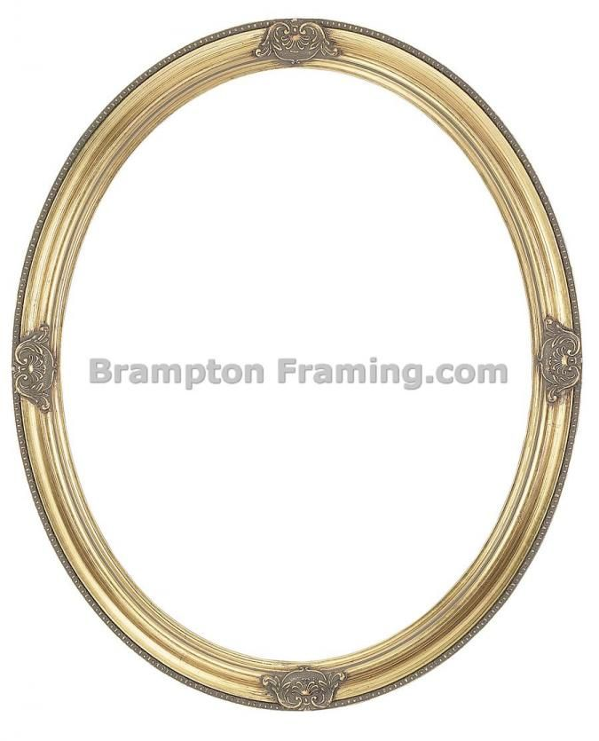Gold Oval Picture Frame Ref. 702693450 Buy Photo frames and picture ...