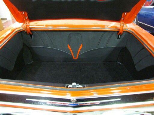 1966 Chevelle Custom Trunk Car Upholstery Chevelle 1965 Chevelle