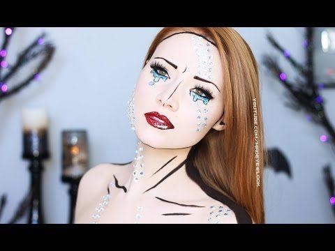 Comic Book Makeup Tutorial (4 Different Ways) - YouTube   fun ...