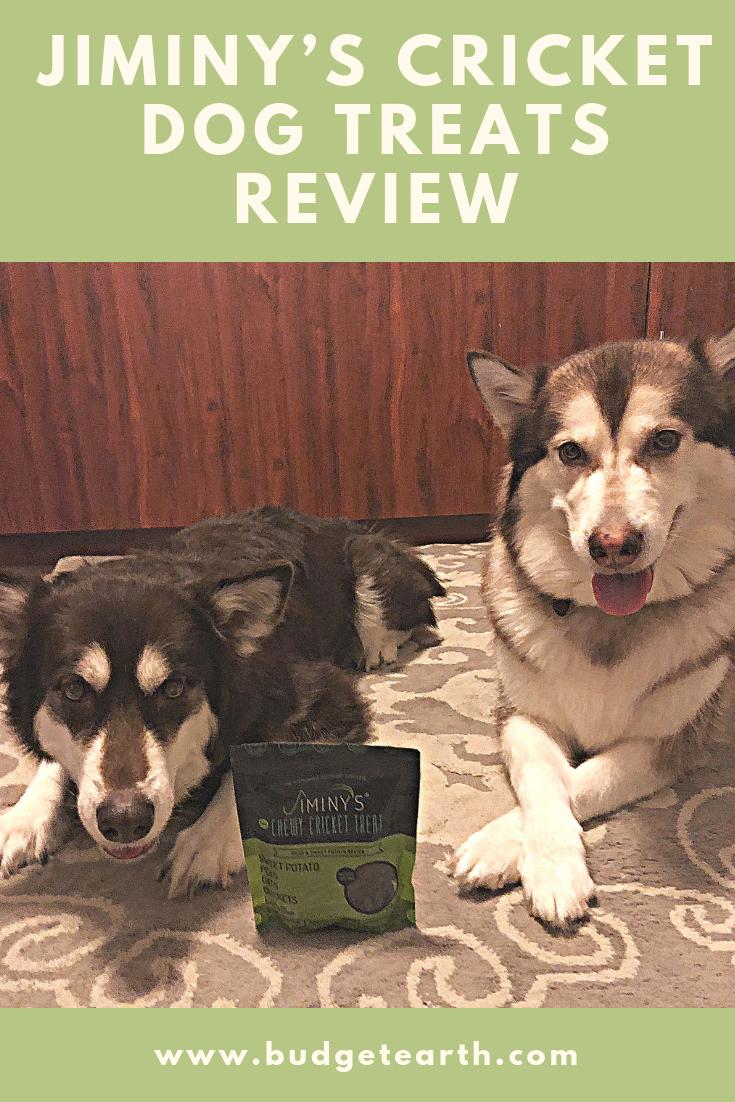 Jiminy S Cricket Dog Treats Review Dog Treats Dogs Your Dog
