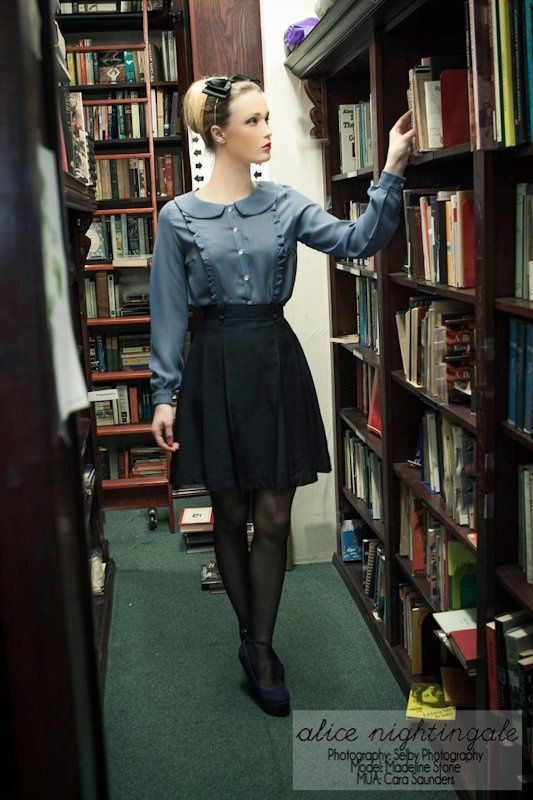 1aff435d54 Image result for librarian style