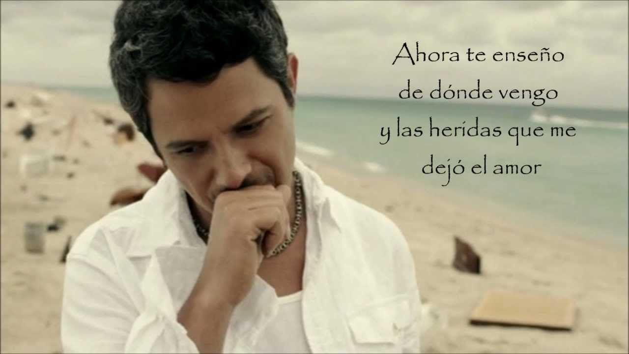 No Me Compares Alejandro Sanz Letra Hd Con Imagenes Letras