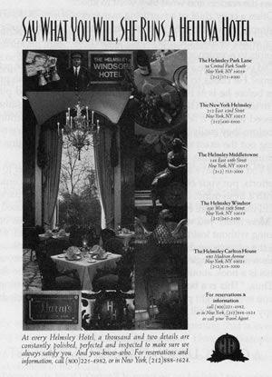 Helmsley Hotel Marketing Examples | Advertisement examples ...