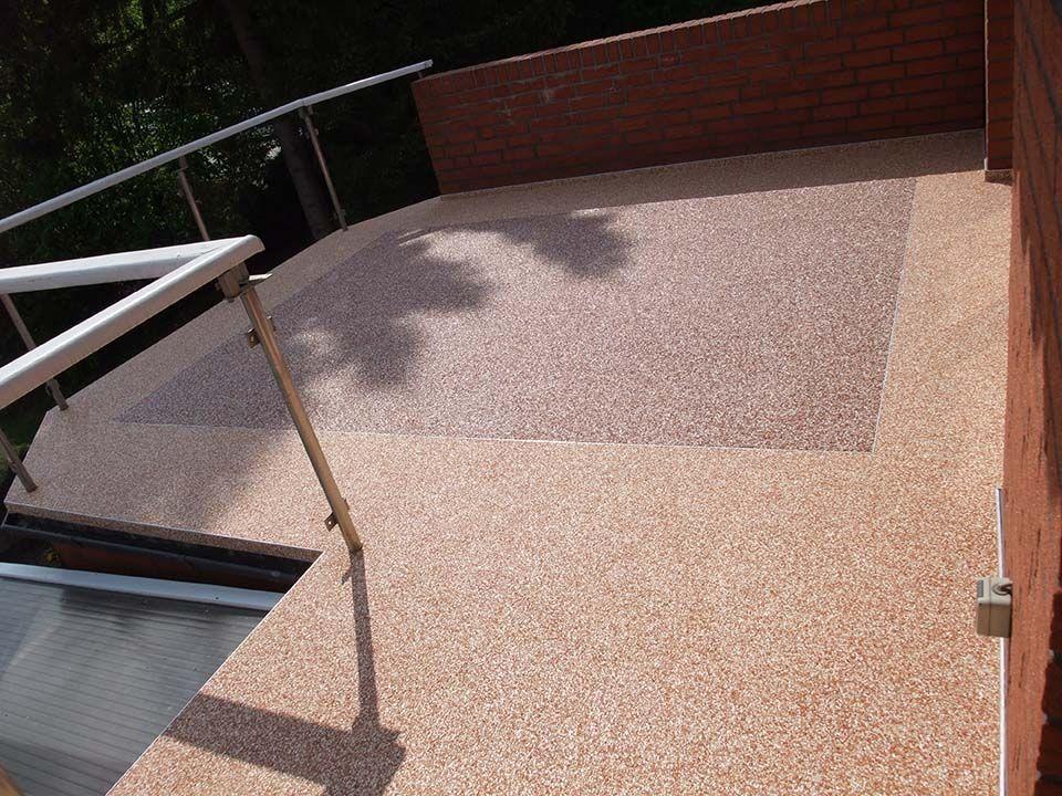 Fabulous Steinteppich auf dem Balkon von www.steinteppiche.net  BW35