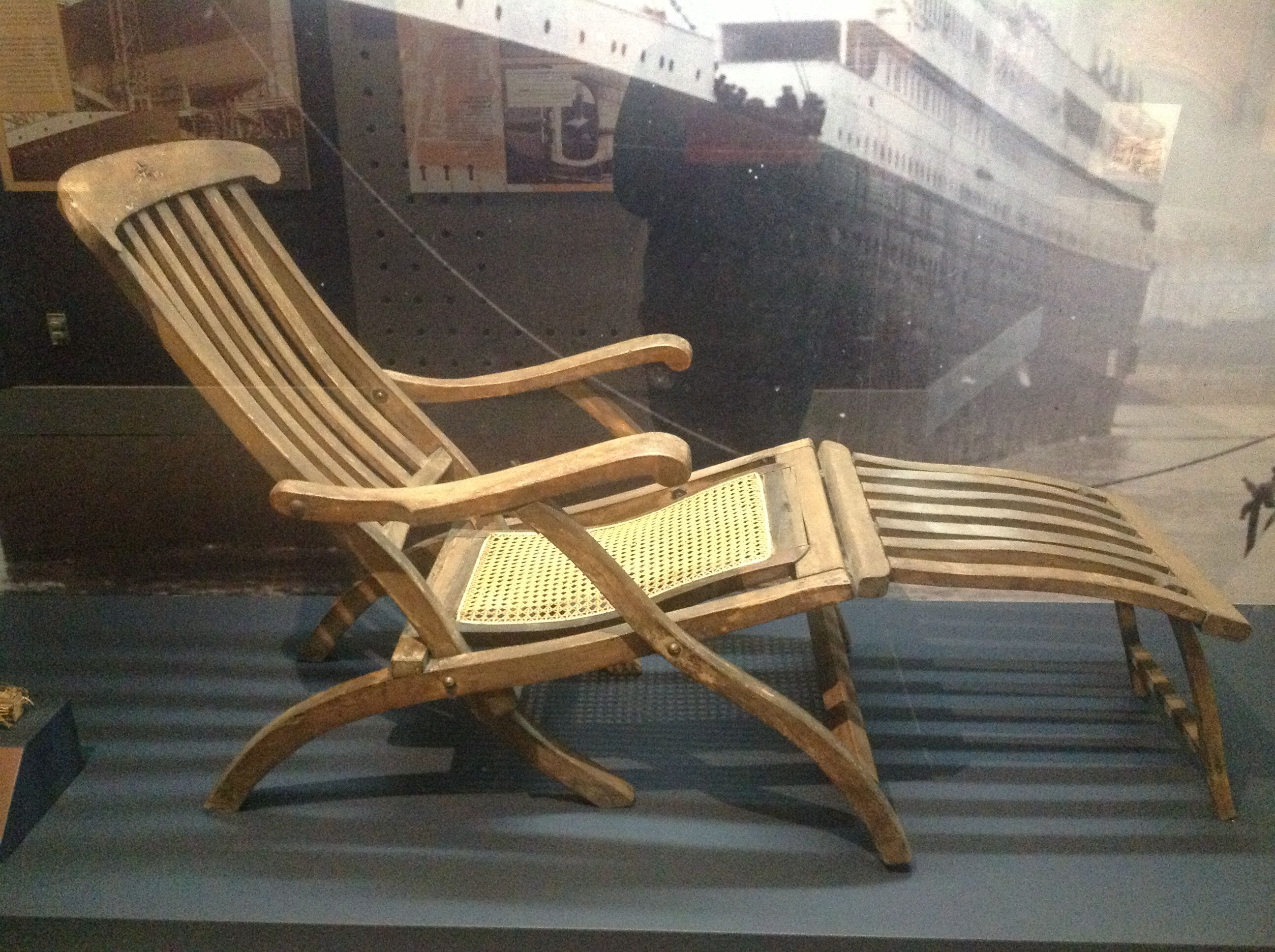 Titanic Deck Chair Reproduction Of Deck Chairs Titanic Pinterest Deck