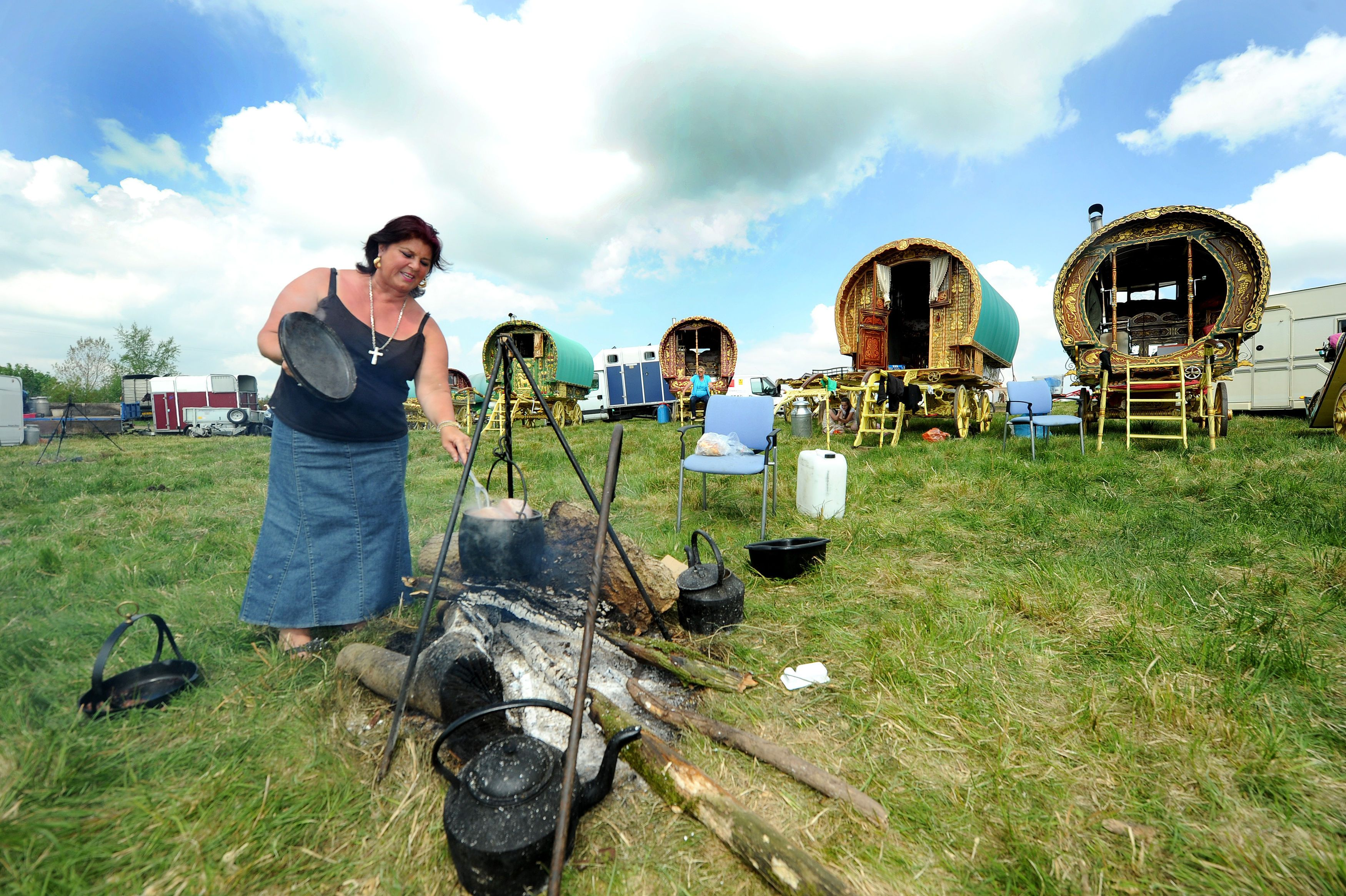 Gypsies and travellers gather at Appleby Horse Fair