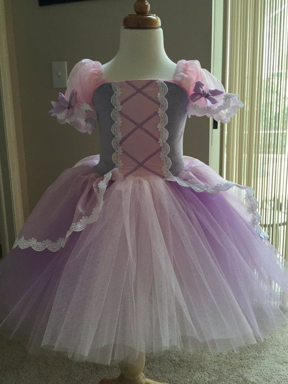 522a951fe Rapunzel inspired tutu princess dress 4t tangled inspired short style
