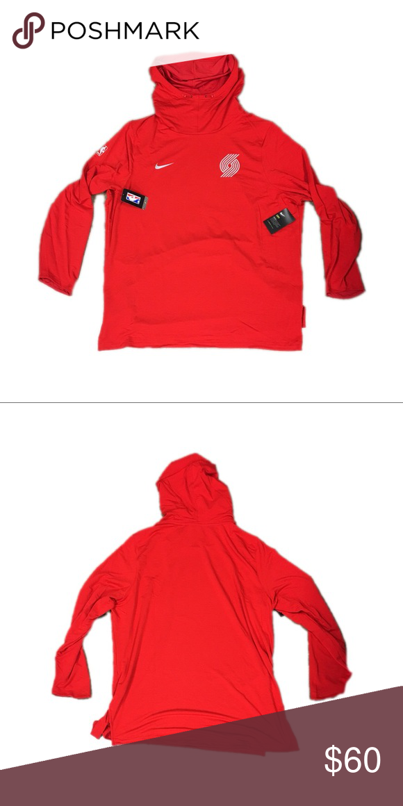 brand new 49261 a07d7 Portland Trail Blazers Nike Hoodie Sweatshirt 4XL Brand new ...