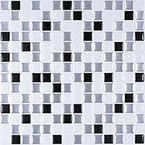 Smart backsplash tiles 10 x 10inch adhesive vinyl mosaic tile