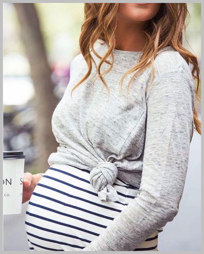 Trendy Maternity Wear – Umstandsmode – # Schwangerschaftsmode #Trendy #Um