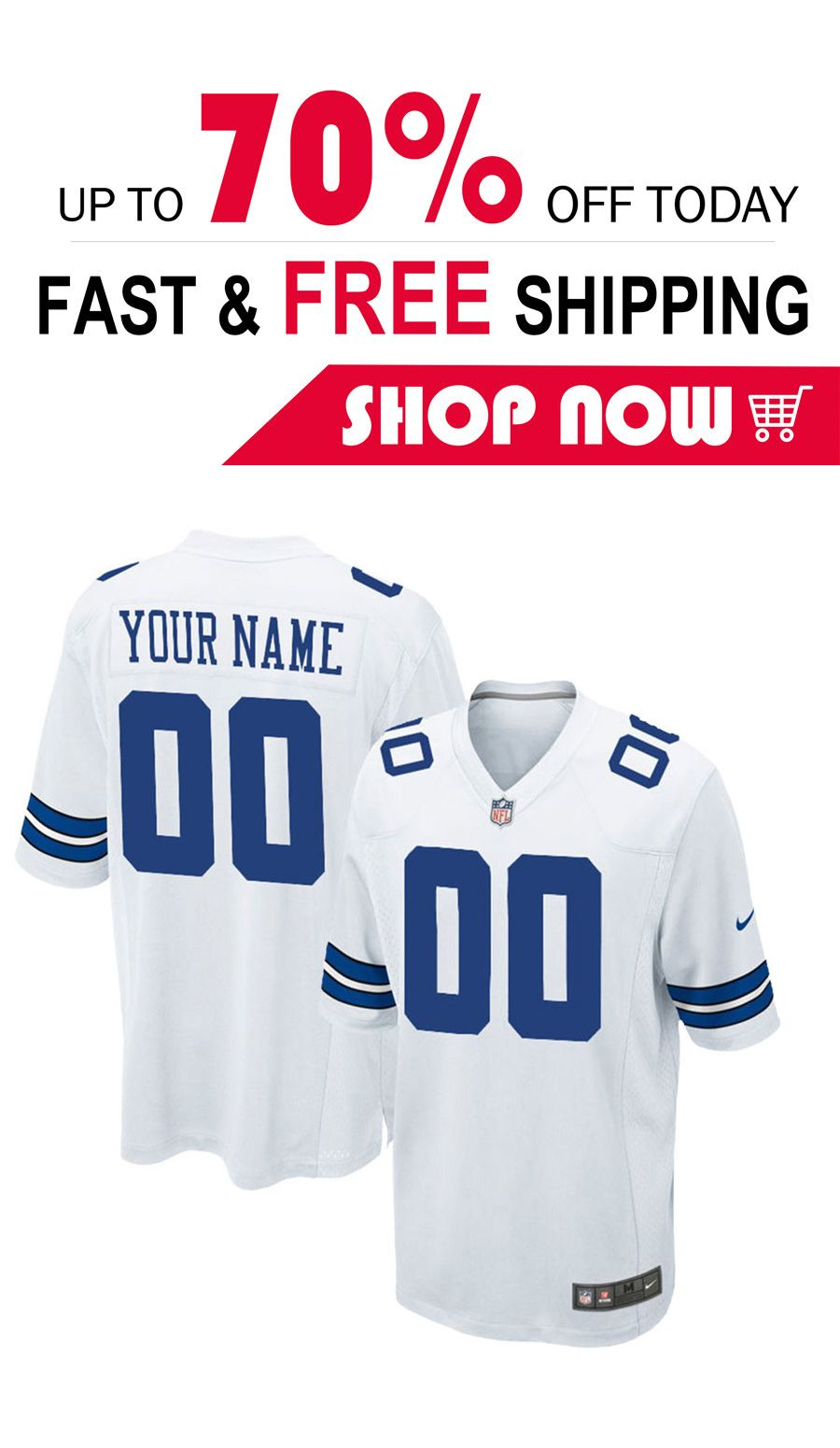 b918cc98c 2019 的 mens Dallas Cowboys cutoms football Game jersey 主题 | NFL Dallas  Cowboys JERSEYS | Dallas cowboys jersey、Nfl dallas cowboys 和 Nfl jerseys