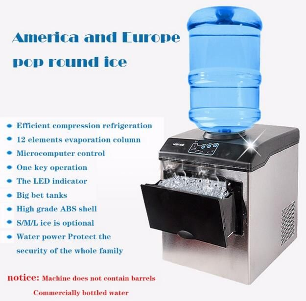 Electric Commercial Household Ice Making Machine 25kg Countertop