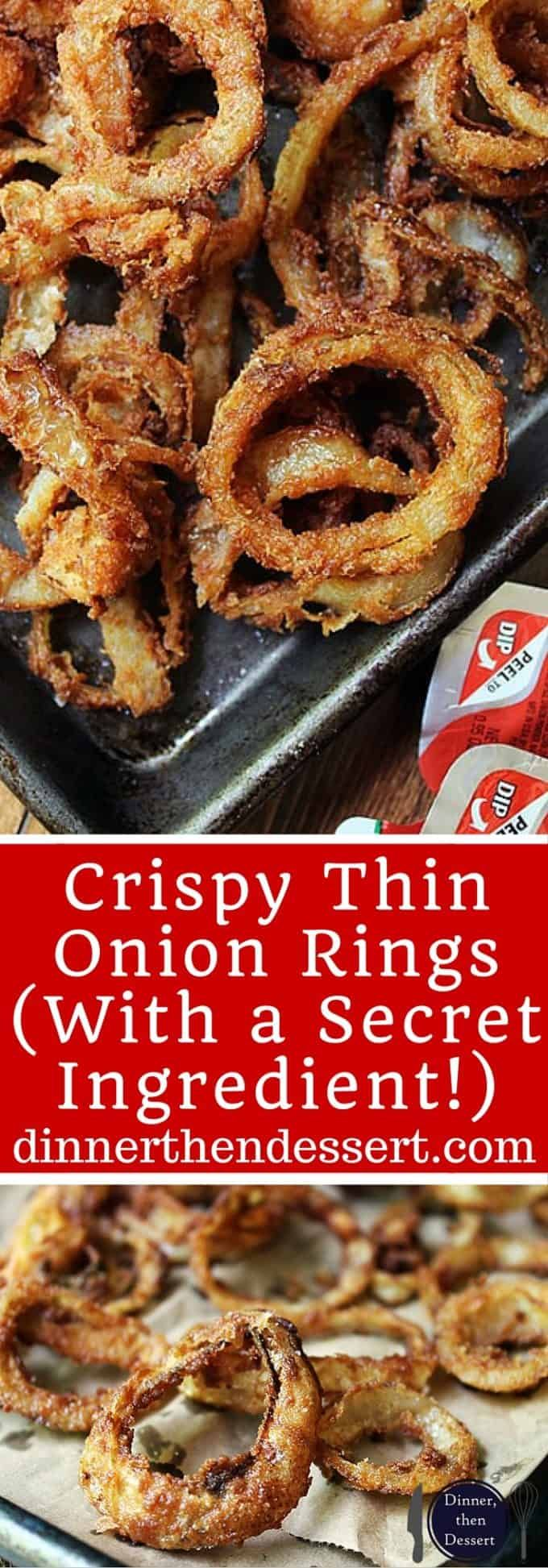 Crispy Thin Onion Rings (With a Secret Ingredient!)