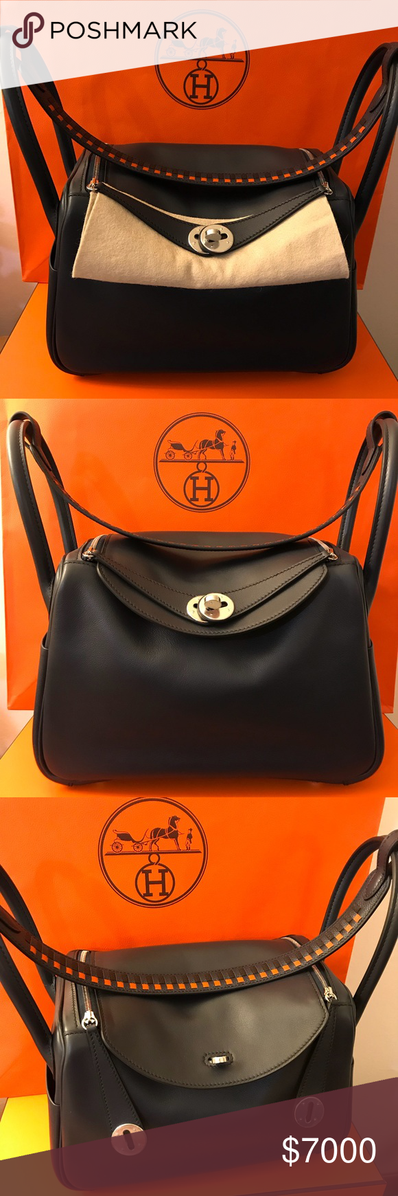 5039d26aa110 Crochet Shoulder Bags · RARE HERMES LINDY 26 WITH TRESSAGE HANDLE Brand  new! Comes with full set w original