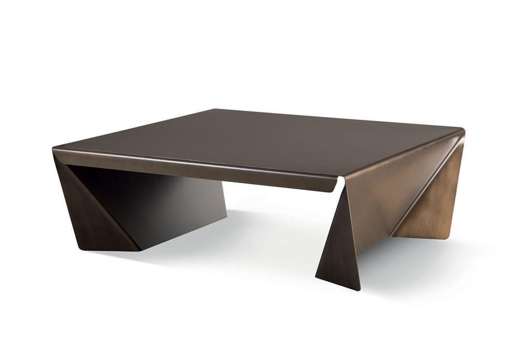 Folded Sheet Metal Ori Side Table Designed For