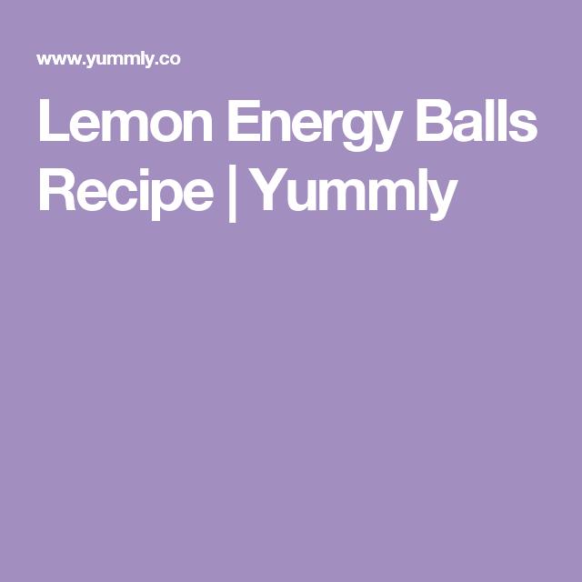 Lemon Energy Balls Recipe Yummly Recipe Chili Recipe Turkey Ground Turkey Chili Recipe Energy Ball Recipe