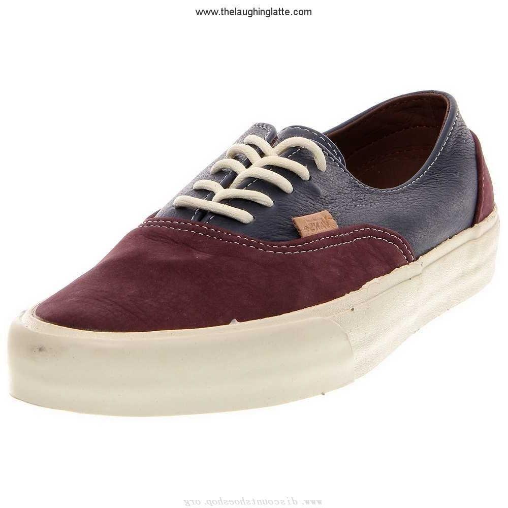 d07f59b7ec Outlet Mens Shoes Vans Era Decon CA Leather Navy
