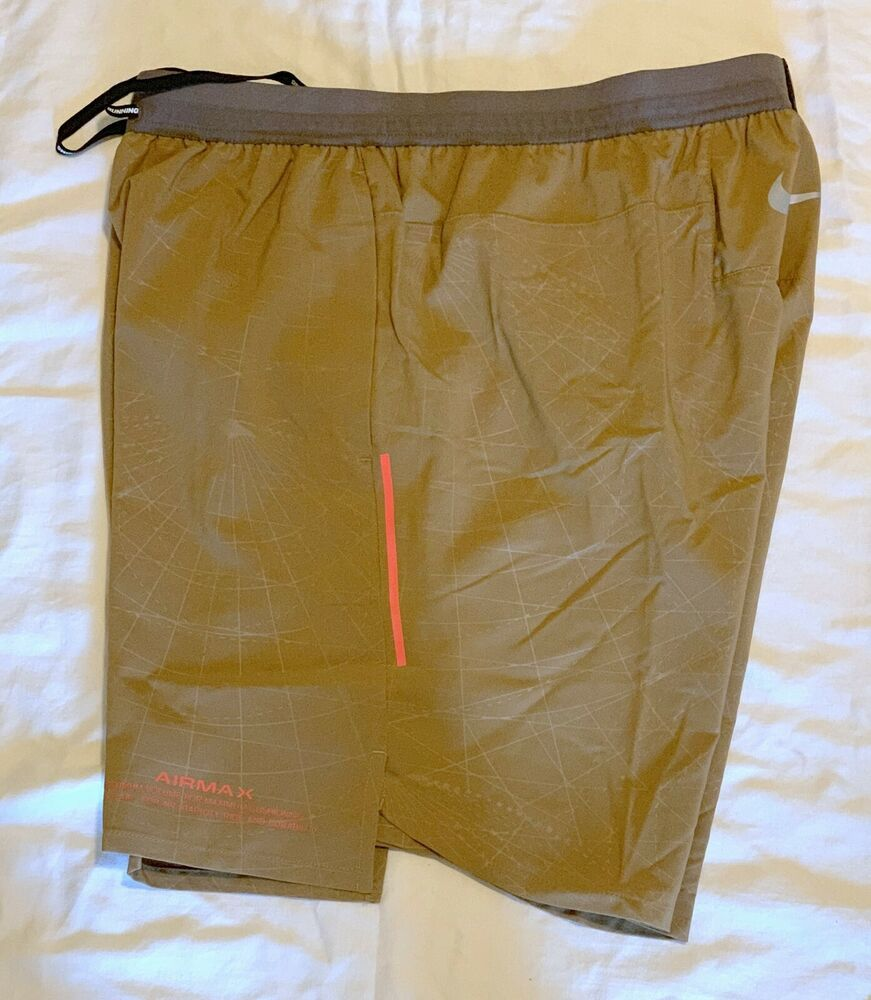 0be8a1fc32efc1 NIKE MEN S FLEX STRIDE 7 INCH BF GX AIRMAX SHORTS NEW AQ3644 216 SIZE LARGE