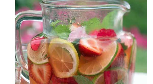 Rita's Spa Water with Lemon and Mint from FOX19 Morning News