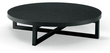 Poliform Yard Round Coffee Table Modern Tables