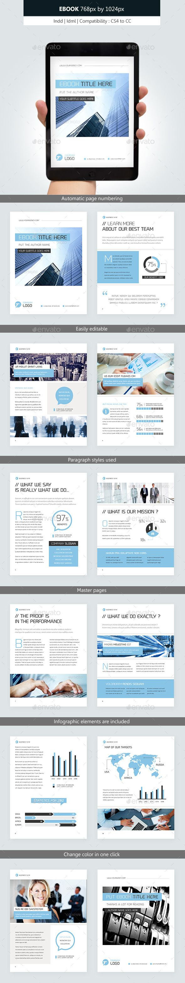 Corporate Ebook Template Design vol.2