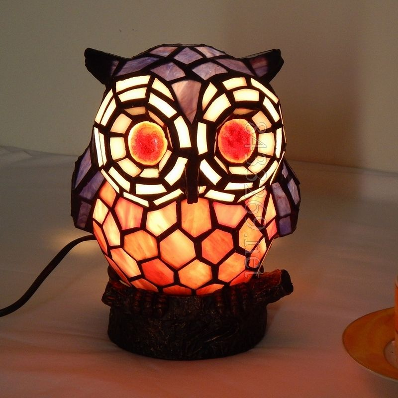 Owl Tiffany Lamp	A15-1RT43