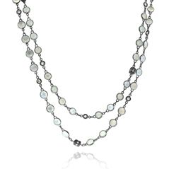 Reis-Nichols Jewelers : Penny Preville Moonstone & Diamond Necklace