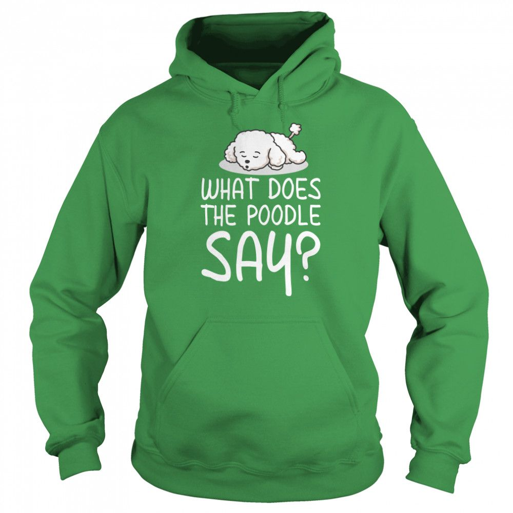 Hoodie as well as other t-shirt merchandise at Malingaa.com   Apparel & Gifts For Dog Lovers #hoodie #poodle #malingaa.com
