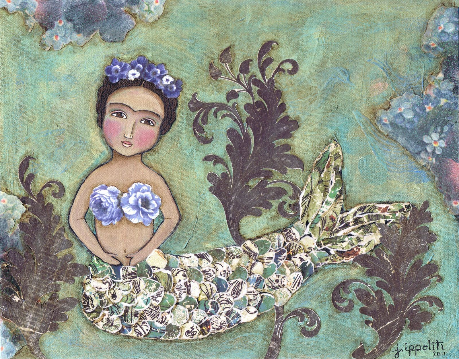 frida mermaid