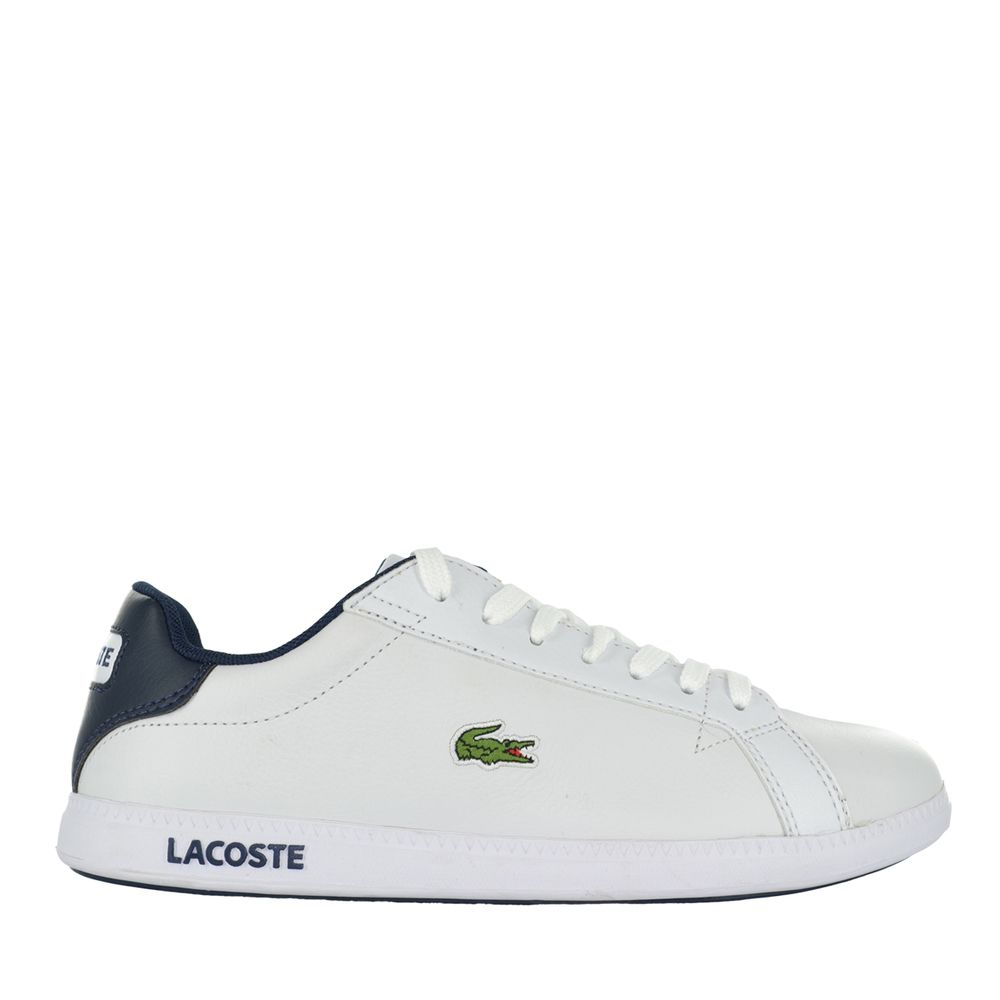 Graduate Lcr Front Lace White Outsole
