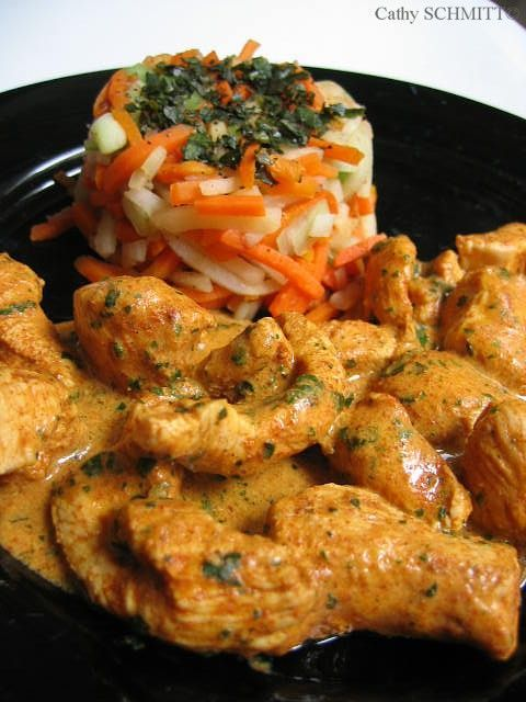 Recette poulet tandoori cuisine indienne recette poulet - Cuisine thailandaise recette ...