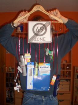 Geschenk Zum 50 Geburtstag Originell Verpacken Pinterest