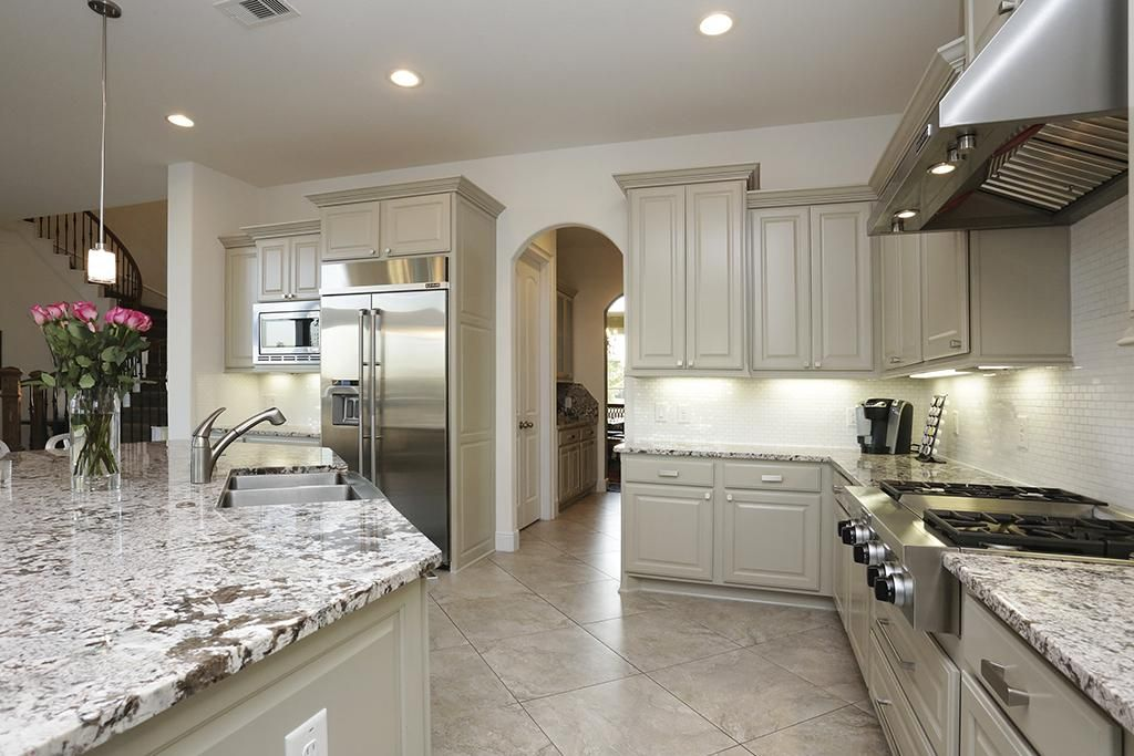 Bianco Antico Granite White Cabinets Tile Floors Google