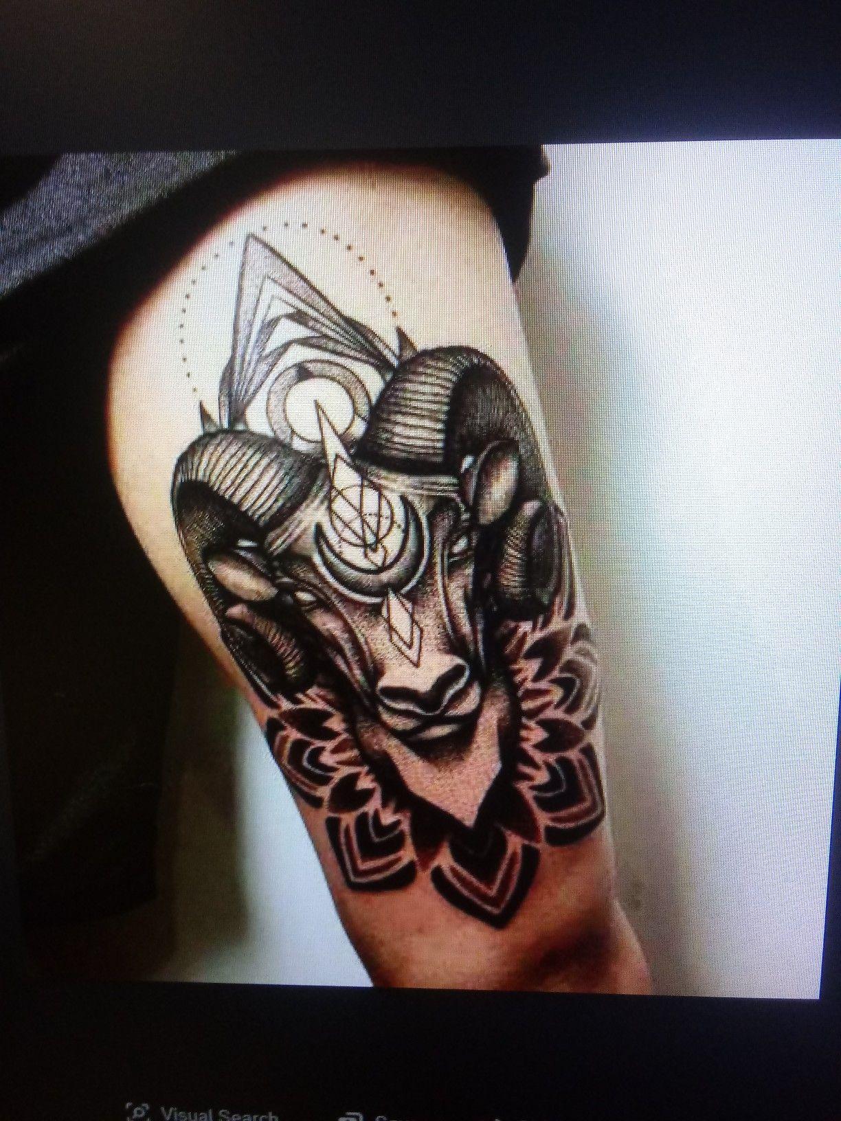 Pin by cody on tattoo ideas Tattoos, Ram tattoo, Aries