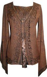 http://bohemian4u.blogspot.com/2015/03/renascence-bohemian-gypsy-embroidered.html  Love this. This is an exquisite blouse and is available in many different sizes.  Step back in time where women were worshiped...