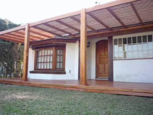 Pergolas de madera dura techo tipo deck 250mt2 4074 - Tipos de pergolas ...