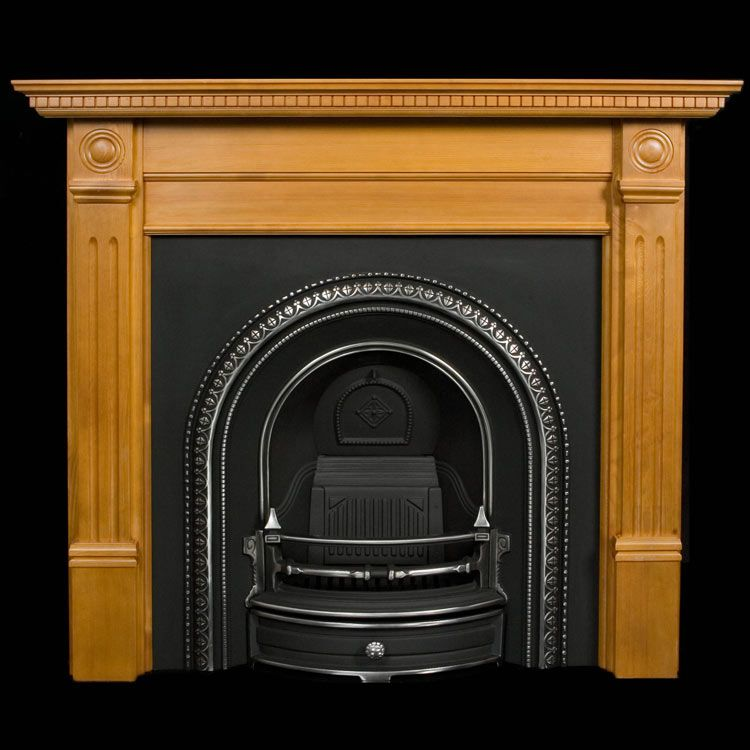 Wooden Fireplace Surrounds | Wood Fireplaces | Pine ...