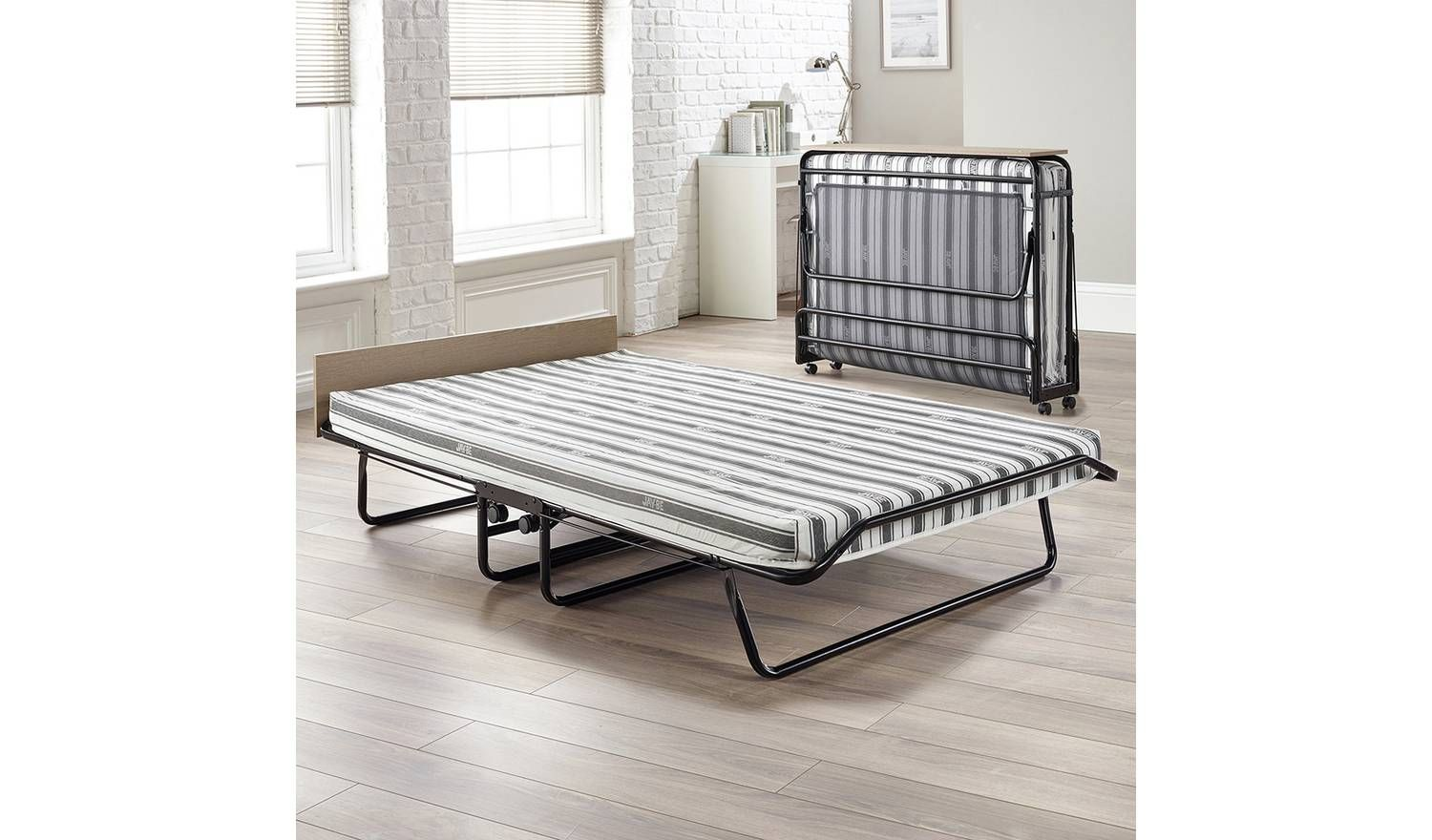 Buy JAYBE Auto Small Double Folding Bed with Airflow