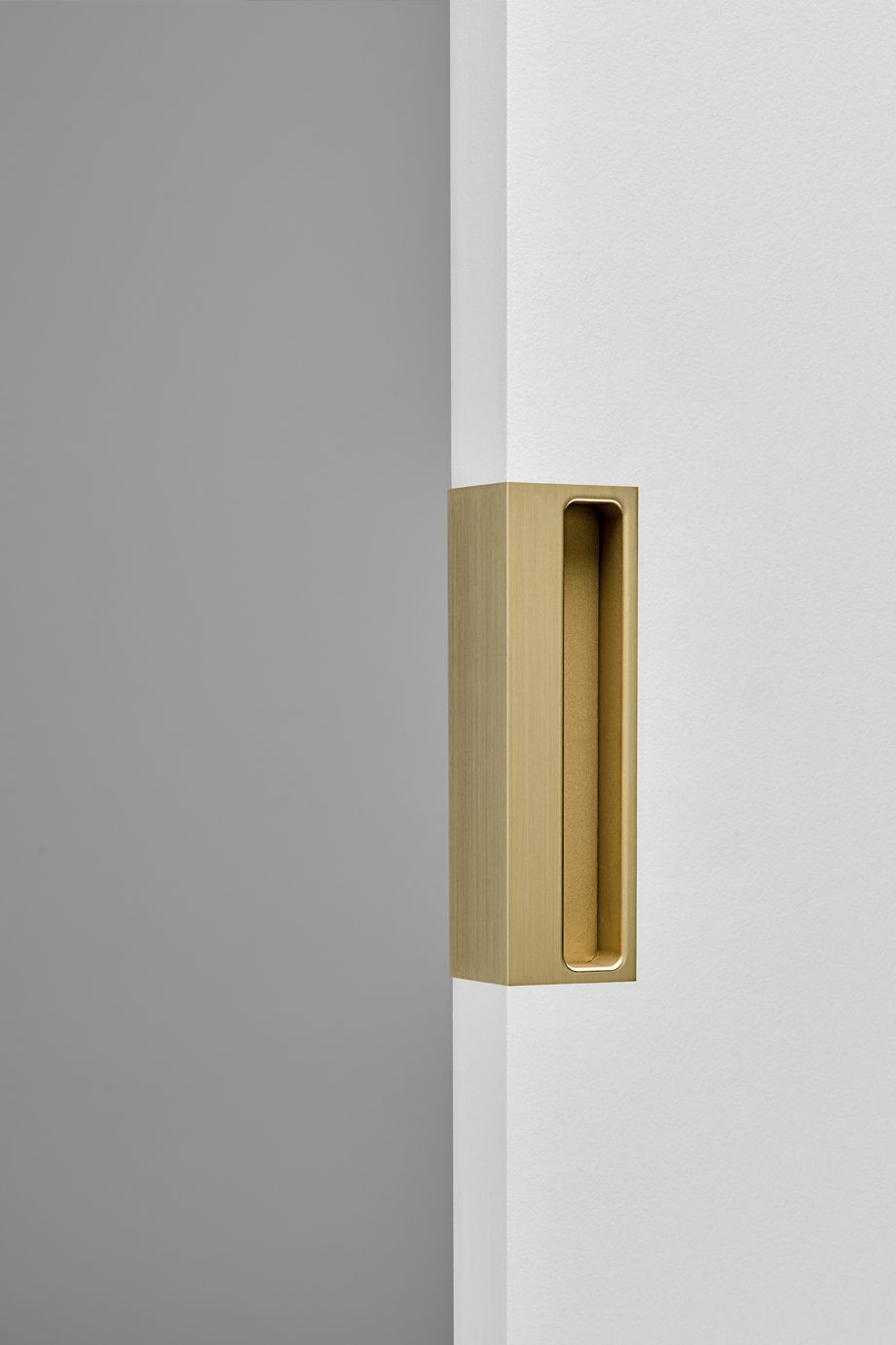 Bit Part Flush Pull Deep Flush Pull Deep 150mm Brass Flush