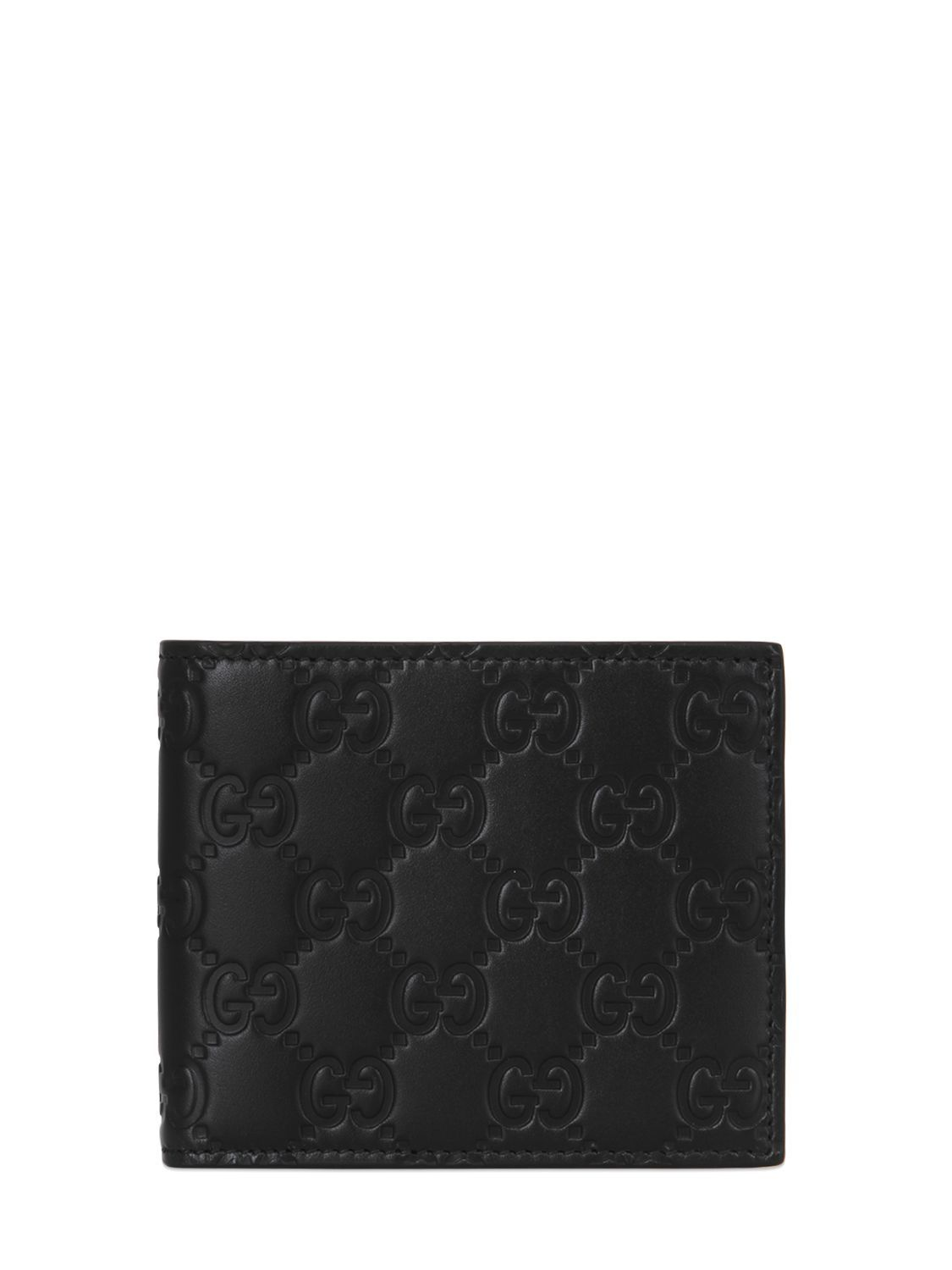 ee9df91d294d GUCCI GUCCI SIGNATURE LEATHER CLASSIC WALLET. #gucci # Gucci Men, Gucci  Gucci
