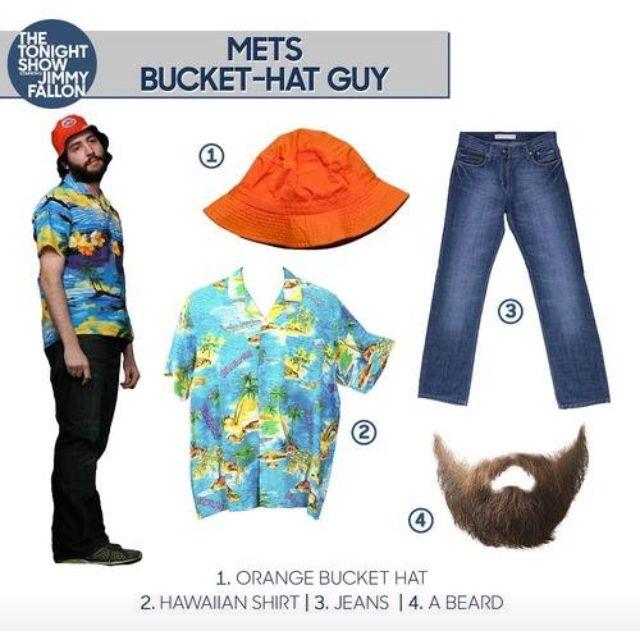 4916a37e3 Jimmy Fallon Halloween Costume Idea: Mets Bucket Hat Guy | fall<3 ...